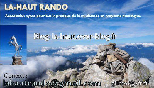 LA-HAUT RANDO en week-end en Vanoise, lac du Génépi, refuge du Plan Sec.