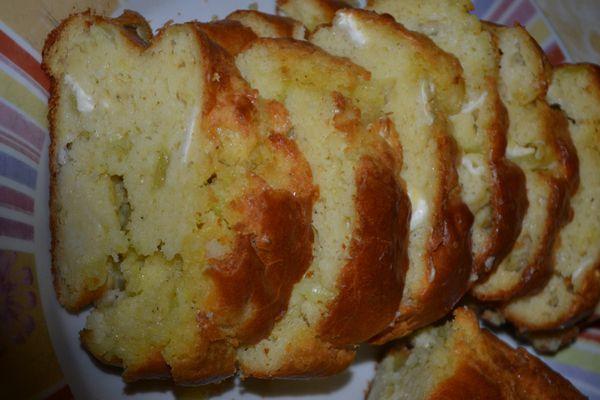 Cake lardons oignon