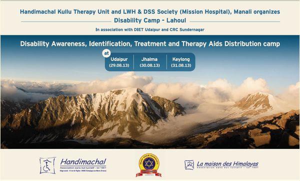 29-30-31 août : camp de sensibilisation au Lahaul