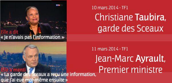 Mensonges suite aux écoutes : les ministres Valls et Taubira doivent démissionner