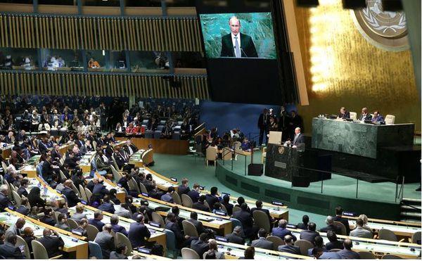 Le discours de V.Poutine a l'ONU