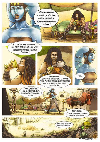 "Star Wars ""Holocron"" comics project by Effix35"
