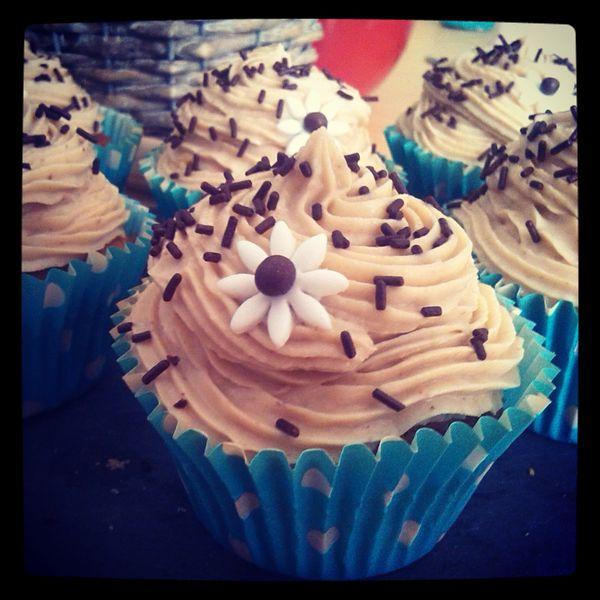 Cupcakes Mont Blanc (crème de marron)