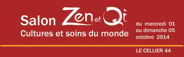 Salon Zen et Qi du Cellier 4 et 5 octobre
