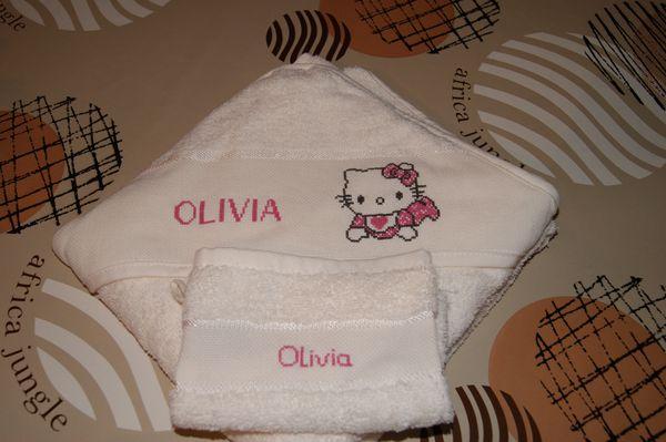 Cape de bain.... Olivia