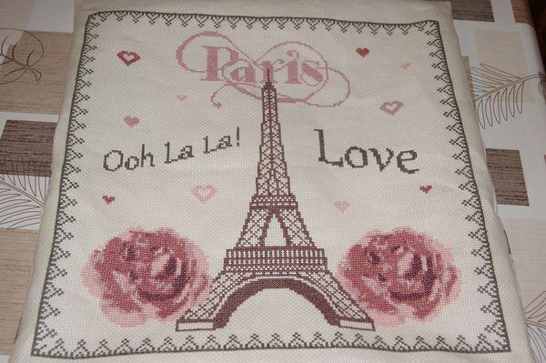 Finition SAL I love Paris