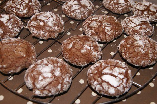 Biscuits craquelés....