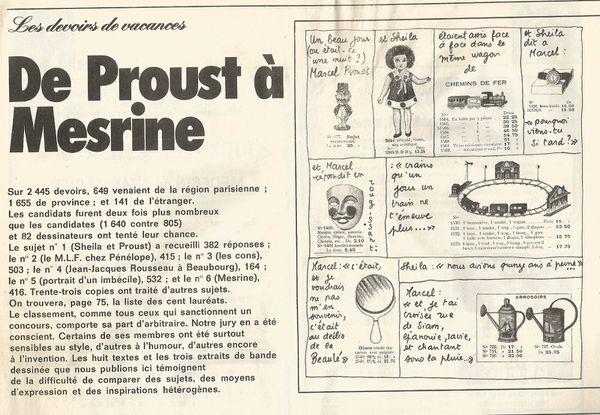 Proustien un jour, toujours proustien: Jean-Jacques Salgon, créateur des véritables moules à Marcel