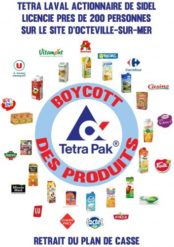 Le groupe Sidel licencie = Boycott Tetra Pak !