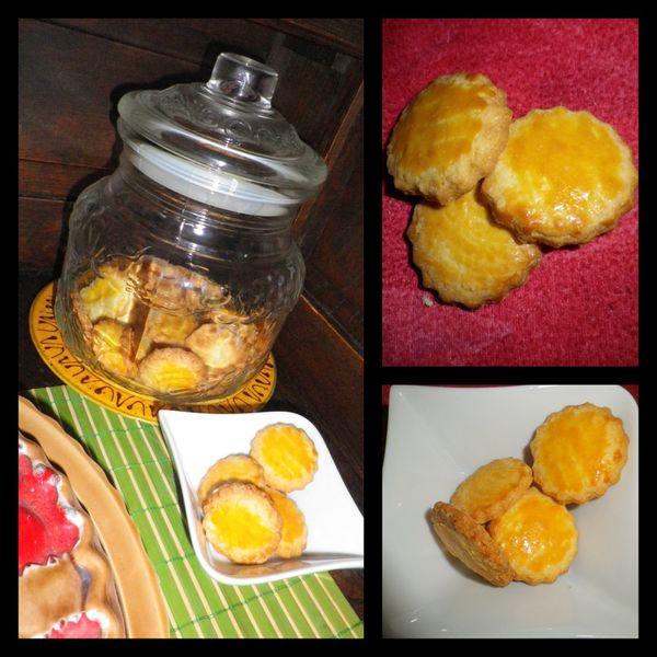 Galettes au beurre pour le gouter