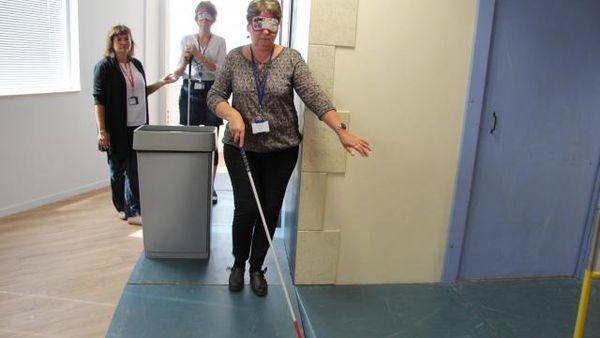 Sensibilisation au handicap visuel en entreprise
