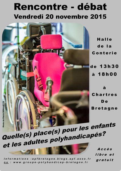 La place du polyhandicap: Conférence débat