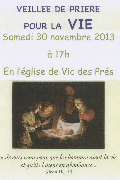 Tous invités le 30 novembre