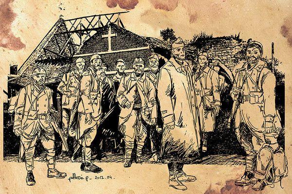 Mobilisation des CDT et CRT du Nord et Nord Est de la France pour le centenaire de  14/18