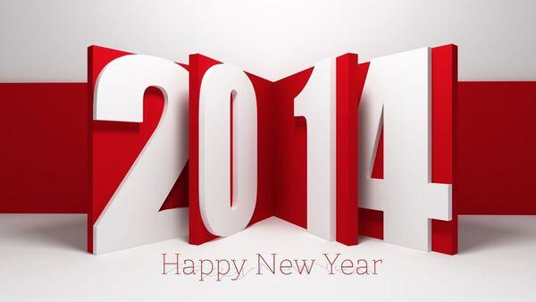 BONNE ET HEUREUSE ANNEE 2014 !