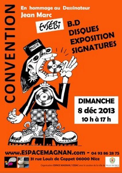 Convention BD disques à l'Espace Magnan