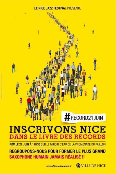 Inscrivons Nice dans le livre des records