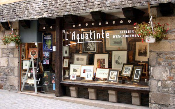 Olto expose à l'Aquatinte - Quimper