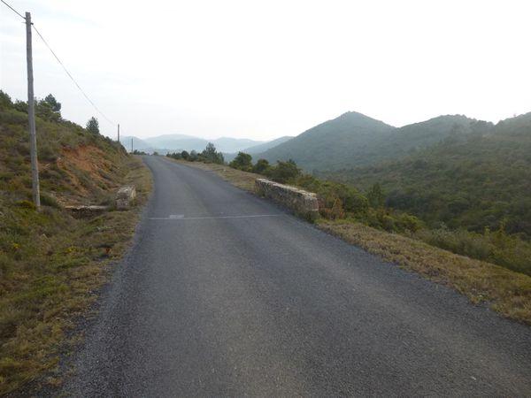 Sommet du Col de PRAT, après ALBAS