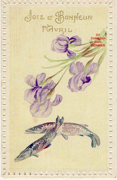 Iris -2198- 1 avril : Joie et bonheur. Brochets. France.