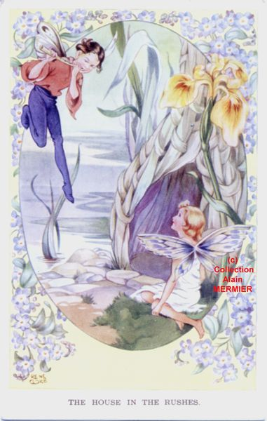 Iris -1962- Illustrateur CLOKE René : The house in the rushes. Grande Bretagne. 1956.
