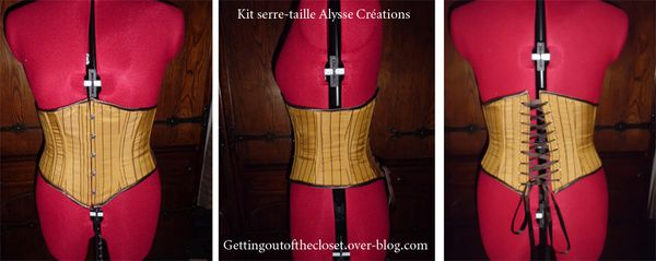Crash test: Le kit serre-taille de chez Alysse Créations / Crash test: The swiss waist kit of Alysse Créations