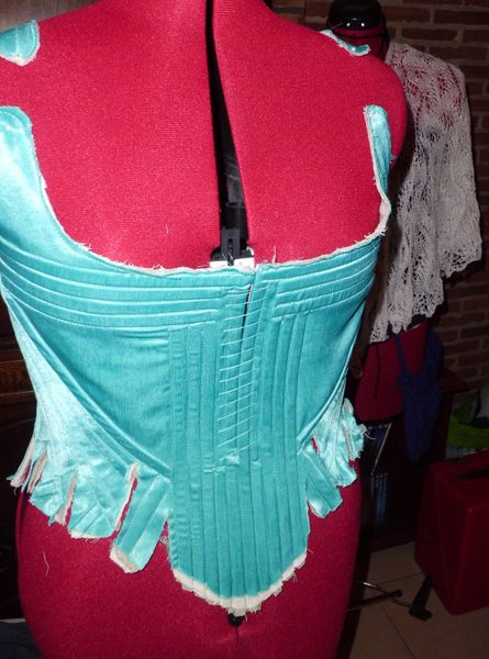 Projet Cersei, le corset: on continue... / Cersei Project, the stays: following...
