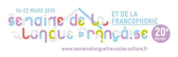 20e Semaine de la Langue Française (album &quot&#x3B;Sans le A&quot&#x3B; + chanson)