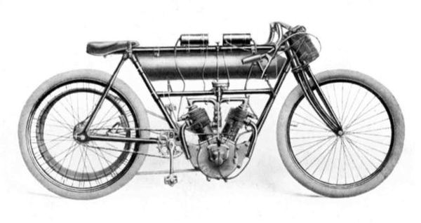 Moto Griffon 1908.
