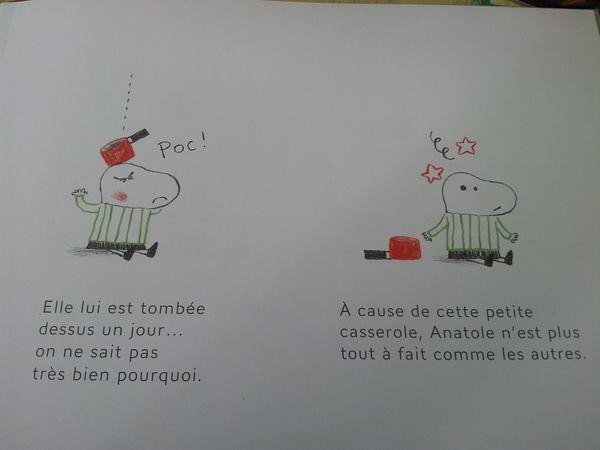 La petite casserole d'Anatole. Isabelle CARRIER + film (Dès 4 ans) – autisme