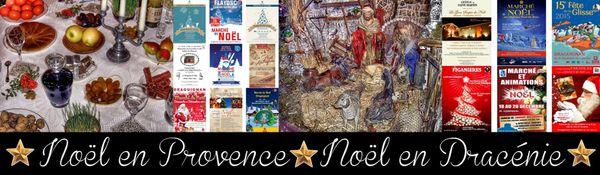 Noël en Dracénie, dans le Var, et en provence