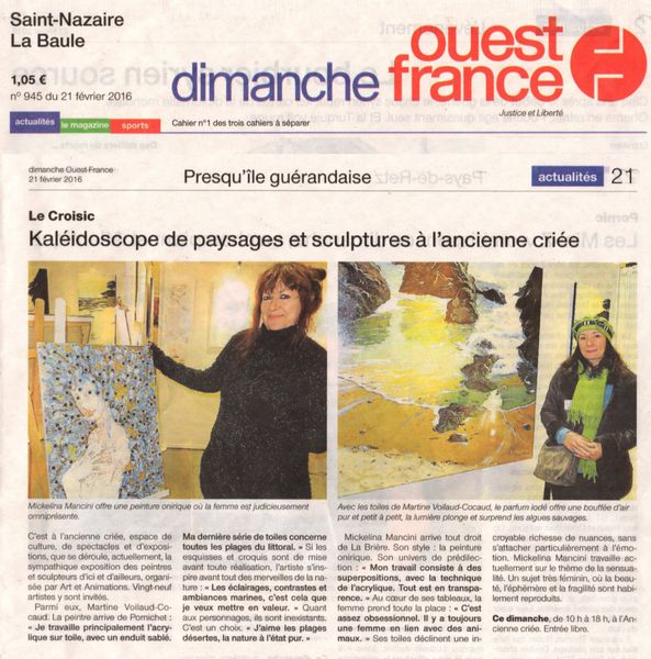 ARTICLE LE CROISIC 2016