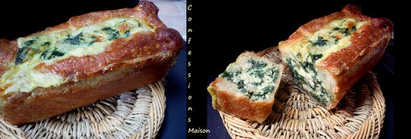 Pâté en croûte Blettes/Mozzarella/Ricotta