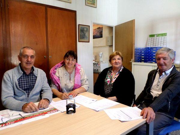 La commune de Sames participe à des actions humanitaires et solidaires avec AIMA