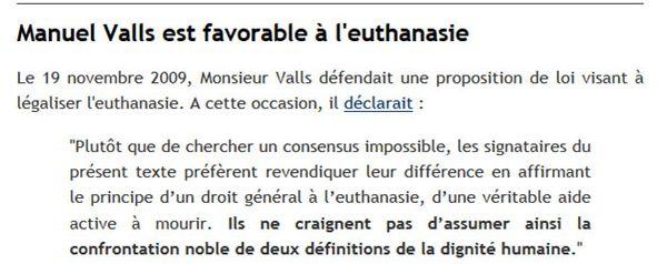 e Valls favorable !! respect de la parole donnée