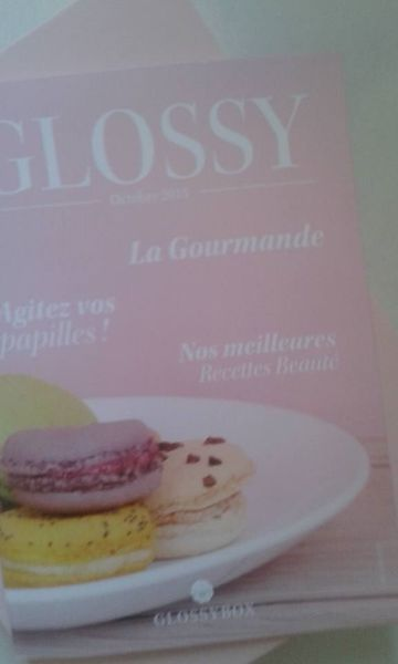 la gourmande chez glossybox