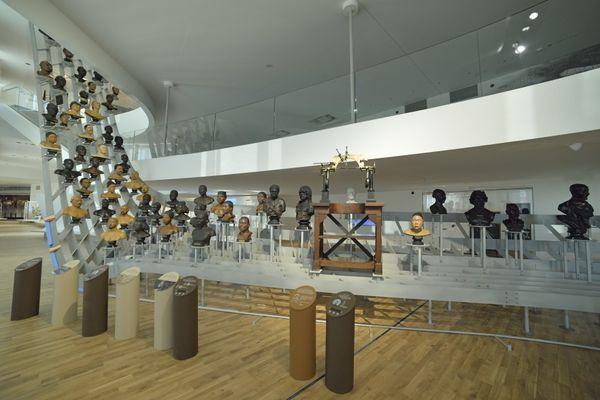 Visite du Musée de l'homme