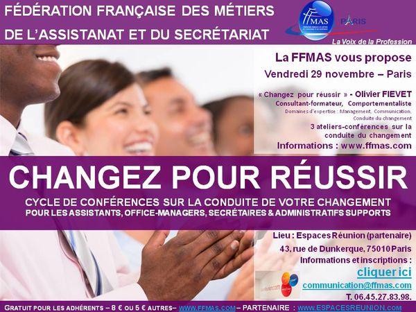 Changez pour réussir (FFMAS Paris)
