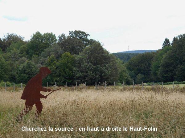 Les Sources de l'Yonne au pied du mont Préneley