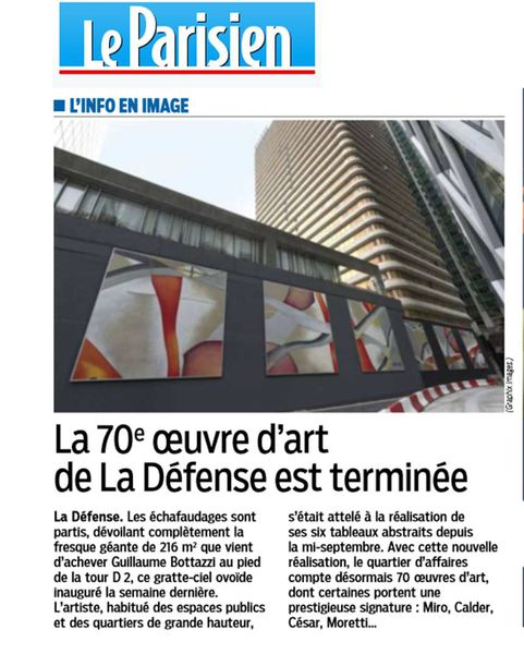 Guillaume Bottazzi / Journal Le Parisien