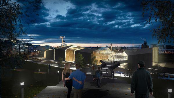 Participation au Concours du Musée Guggenheim Helsinki 2014