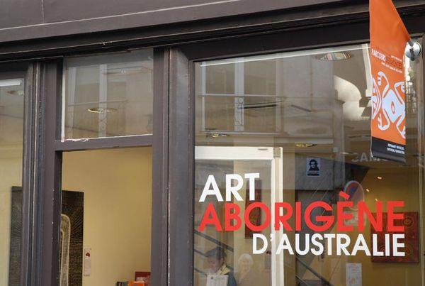 Photographies du Parcours des Mondes 2015 : art et peinture aborigène