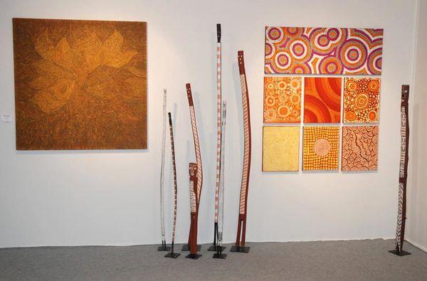 Art aborigène à Art Elysées 2015