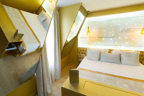 Les Bulles de Paris : un hôtel entièrement dédié au champagne