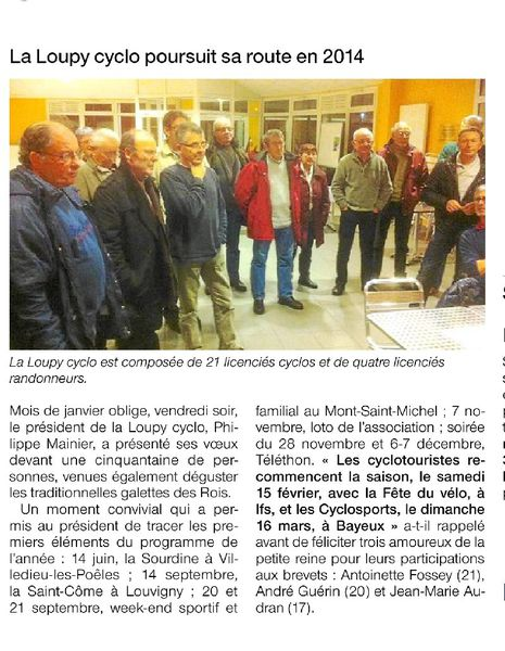 article OF 27 janvier 2014