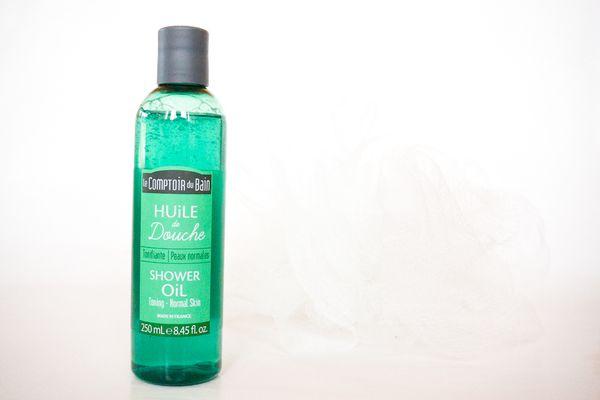 Nouveauté: L'huile de douche Tonifiante le Comptoir du bain
