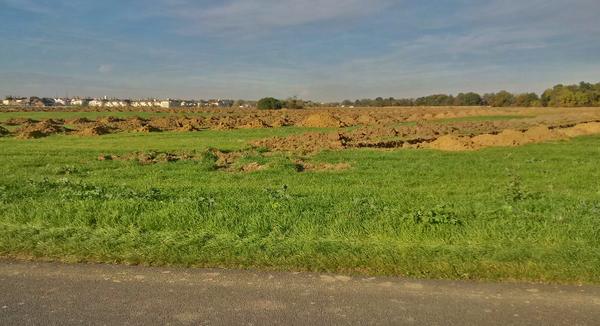 Nouvelle ZAC, route du golf de Villeray