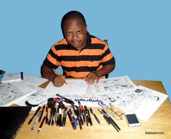 Une interview de Benjamin Kouadio réalisée par Orphelie Thalmas
