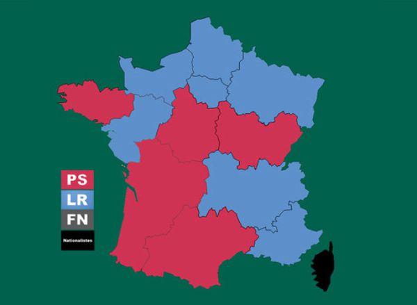 Les vraies couleurs de la France.