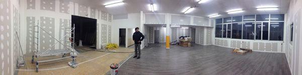 Fin des travaux de l'atelier de Mini World Lyon 23 au 27/12/2013